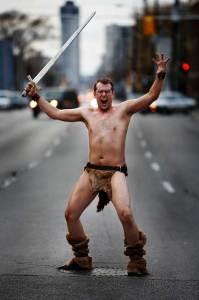 Aaron Merke urban barbarian