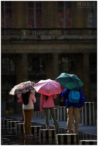Paris - Sunshower