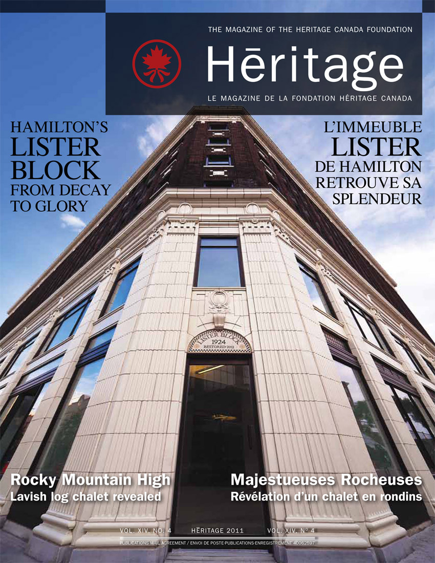 Heritage Magazine Cover