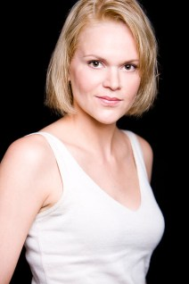 female actor headshot