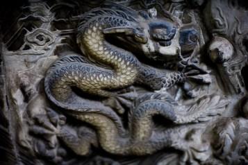 Dragon Relief - Suzhou, China