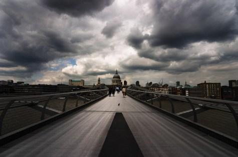 Millennium Bridge, London, England