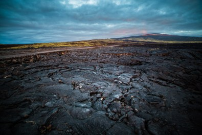 Big Island Lava Field, Hawaii
