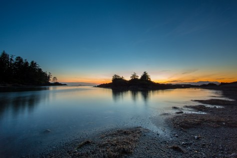 Sunset at Pacific Rim National Park, Tofino