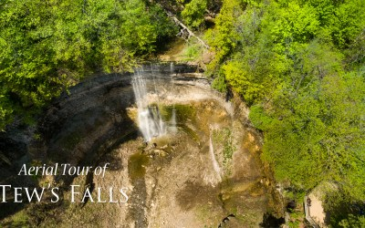 Tew's Falls aerial tour