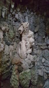 Grotto Pan Statue Nymphaeum Marlia