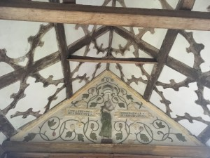 Little Moreton Hall ceiling