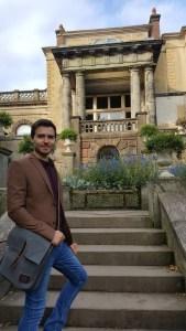 Kevin Biddulph Grange Italy steps