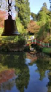 Biddulph Grange China pool bridge bell