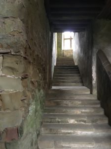 Hardwick Old Hall stairs