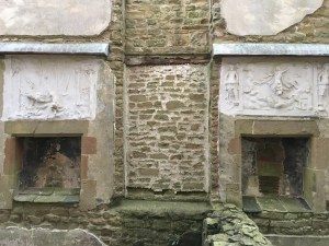 Hardwick Old Hall fireplaces
