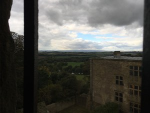 View from Hardwick Old Hall