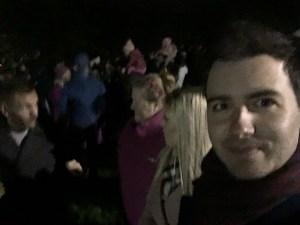 Group shot Lancaster fireworks