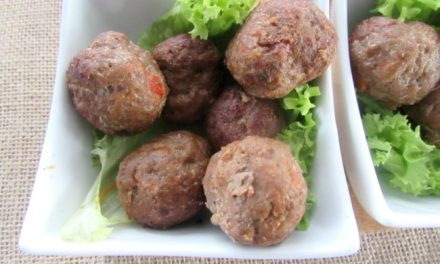 MEATBALLS: A SIMPLE AND YUMMY SNACK