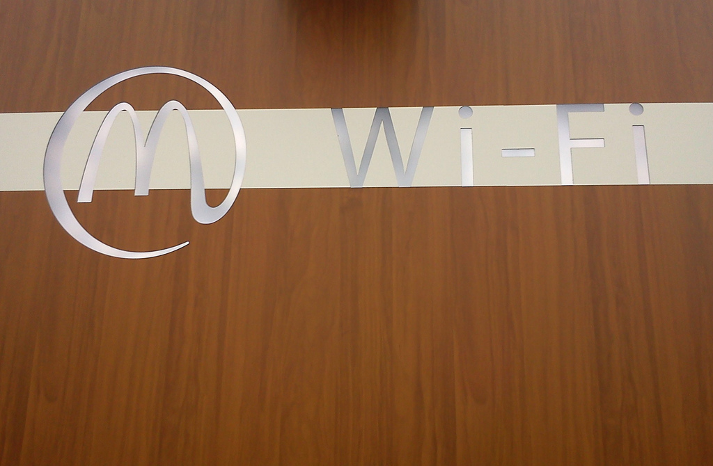 wi-fi mcdonals - redes Wi-Fi