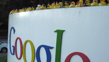 Entrada de Google - data center de google
