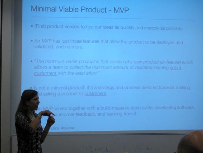 ¿Qué es un producto mínimo viable?