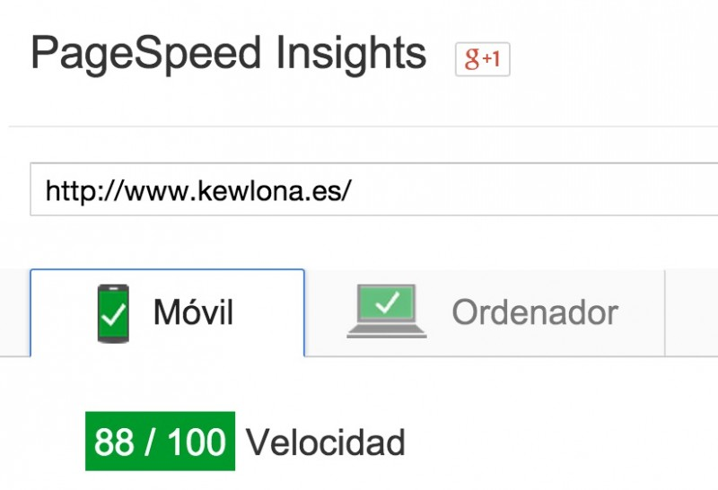 PageSpeed_Insights - mejorar la velocidad de WordPress