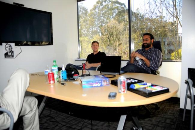 Reuniones en una startup