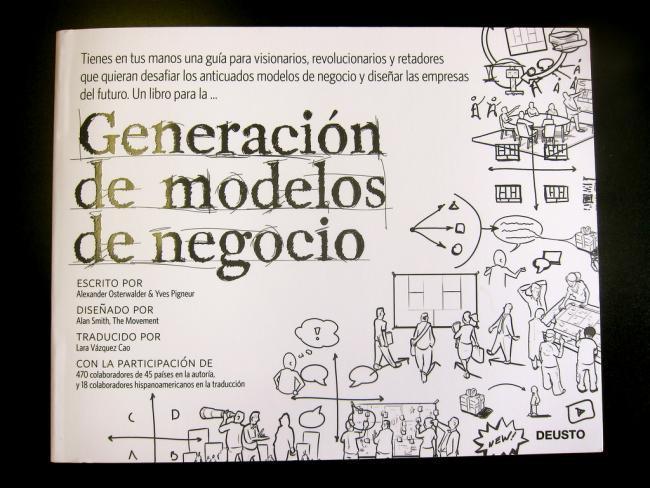 generación de modelos de negocio - libros para emprendedores