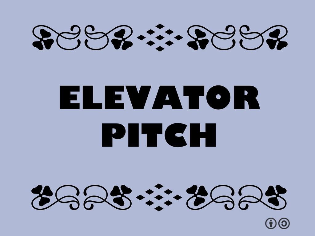 cómo hacer un buen pitch