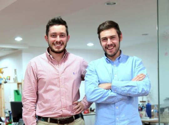 Víctor Rodado (derecha) y José Luis Vega de Seoane (izquierda), fundadores de Upplication