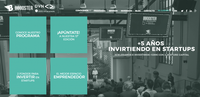bbooster web ecosistema de startups de valencia