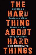 hard things about hard things - Libros recomendados para el CEO de una startup