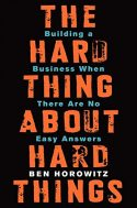 hard things about hard things - Libros recomendados para el CEO de una startup