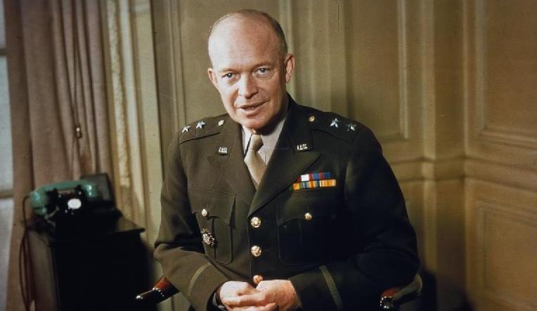 Major General Dwight Eisenhower 1942 - Matriz de Eisenhower