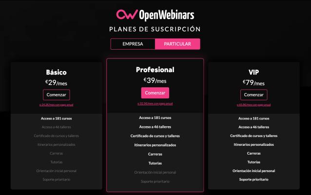 OpenWebinars Técnica del señuelo
