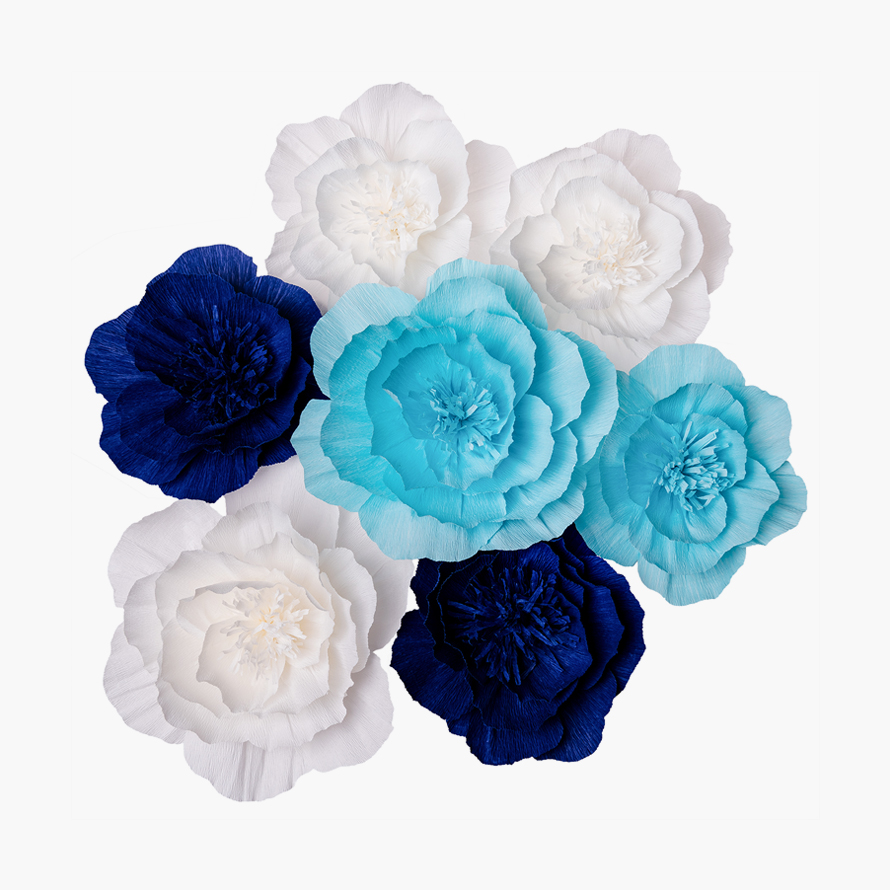 Crepe Paper Flower Decorations Key Spring