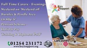 Support Worker Burnley – Evenings
