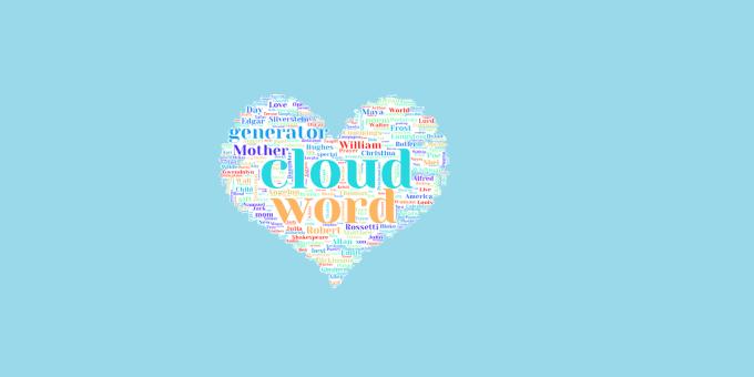 create word cloud image