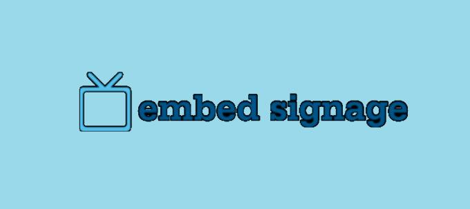 Embed Signage