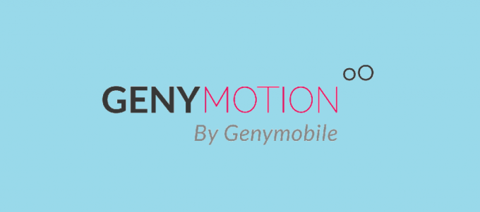 GenyMotion Android Emulator