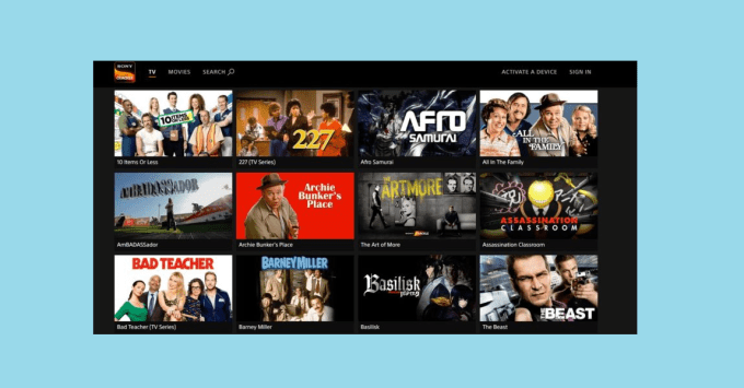 Sony Crackle Best Watch TV Shows Online Free Site