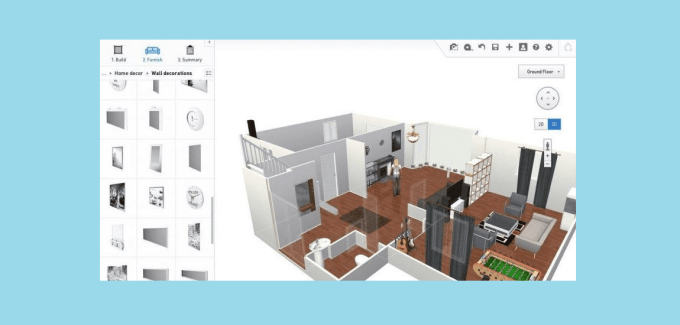 HomeByMe Free and online 3D home design planner