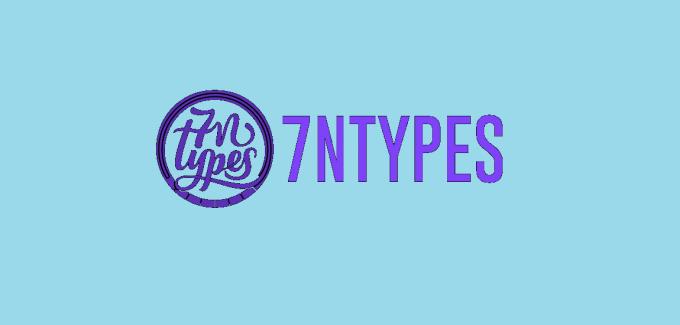 7NTypes free fonts