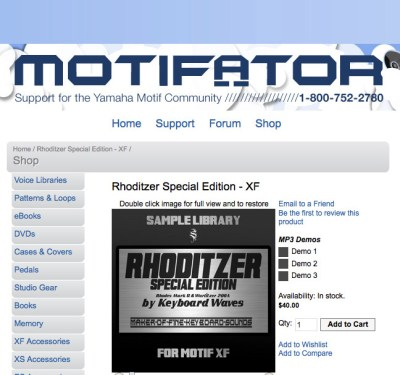 Rhoditzer on Motifator