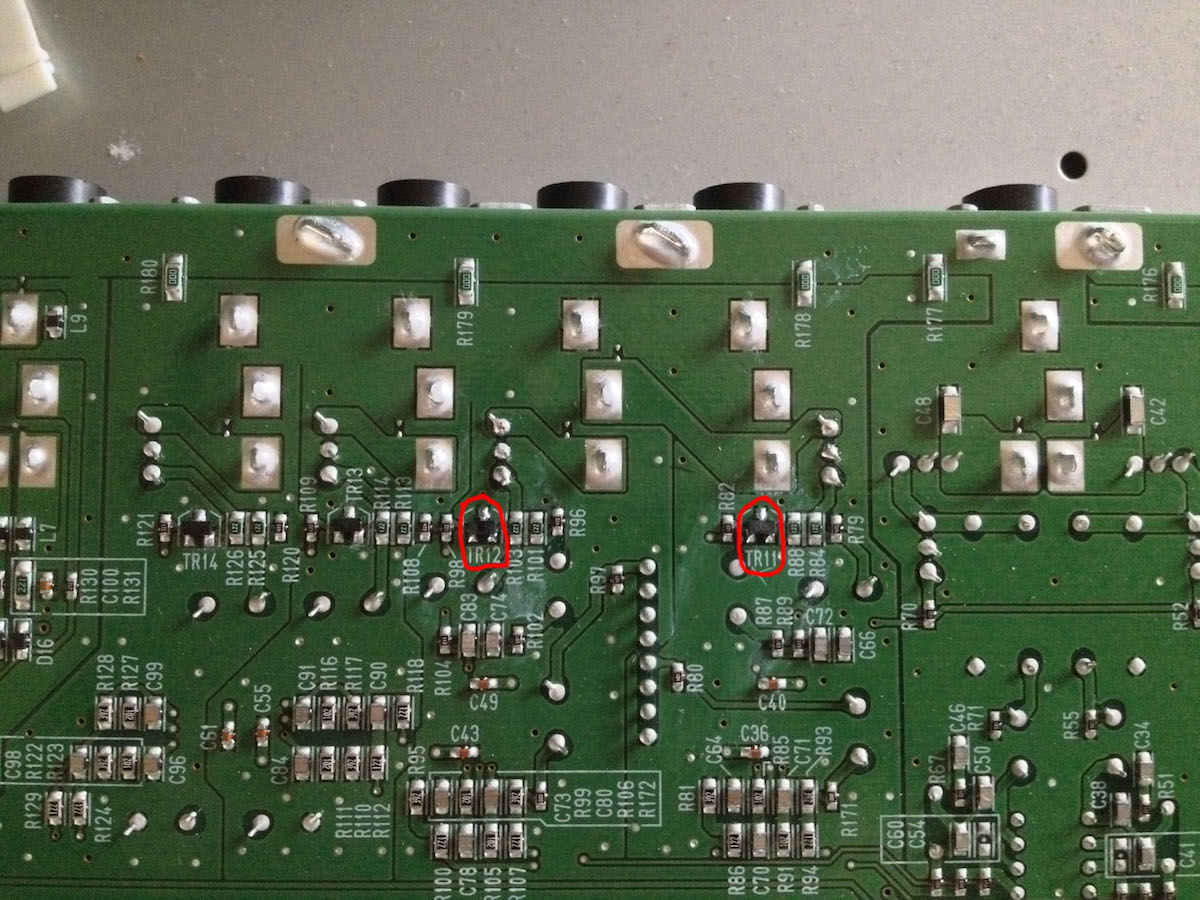 Repair The Motif XF Line Output