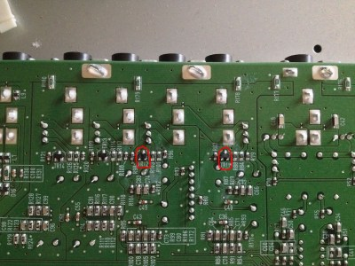Repair The Motif XF Line Output