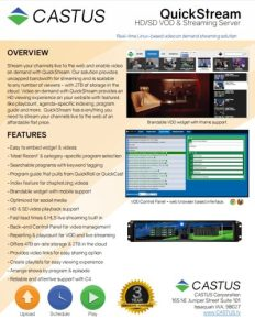 castus-quickstream brochure