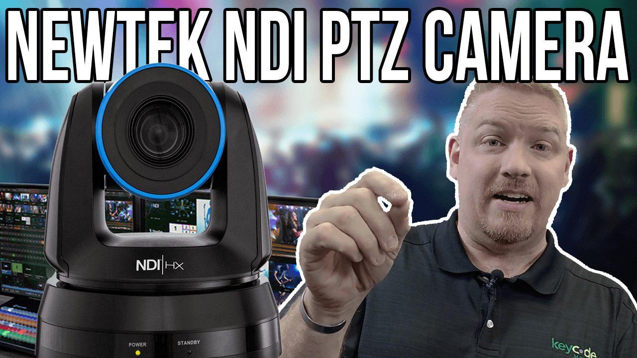 Newtek NDI PTZ Camera Unboxing Review