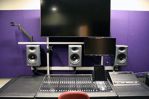 Santa Monica College Avid Audio S6 Console