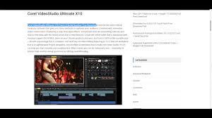 serial number corel videostudio x10 bagas31