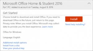 Microsoft Oĉce