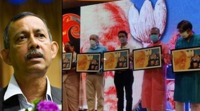 Minister Goutam Deb's debut as a singer