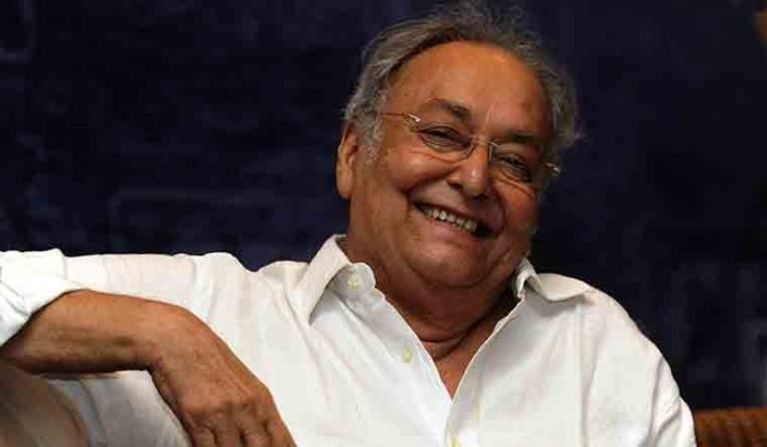 Soumitra chatterjee is slowly recovering