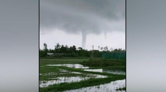 A tornado hit again hoogly river